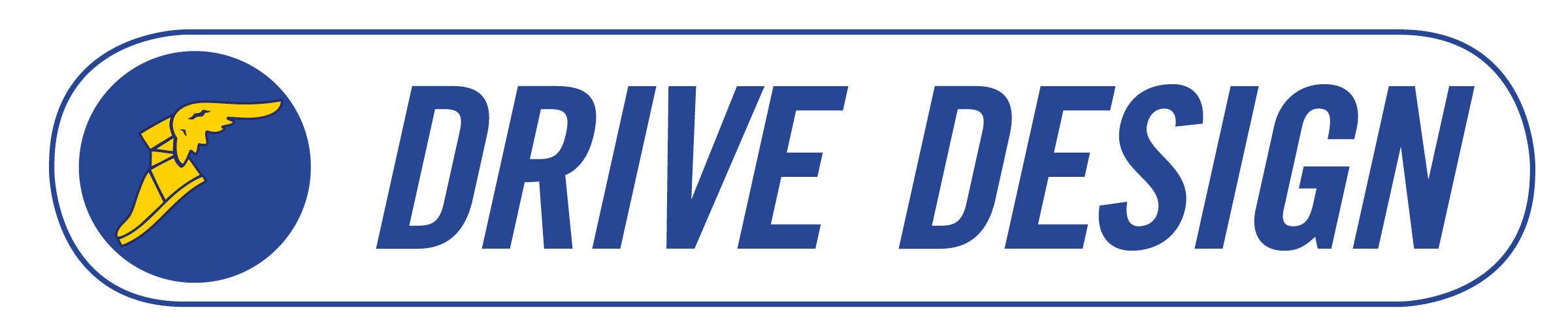 Goodyear Belts Drive Design Logo